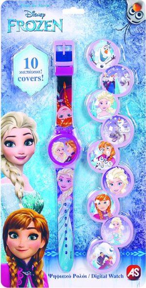 Frozen Ρολόι Digital 10 Caps (1027-64128)