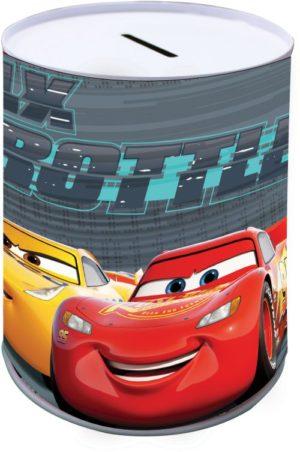 Cars Κουμπαράς Μεταλλικός 10x15cm (0561700)