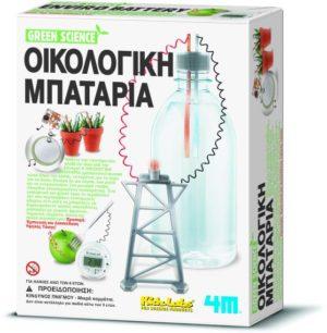 4M Green Science-Οικολογική Μπαταρία (3261/4M0069)