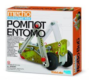 4M Μηχανοκίνητο Ρομπότ Έντομο-Κατασκευή (03403/4M0365)