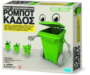 4M Green Science-Ρομπότ Κάδος (3371/4M0406)
