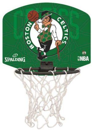 Spalding Celtics Μπασκέτα Micro (77-624Z1)