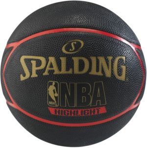Spalding Μπάλα Μπάσκετ Highlight Red Rubber S7 (83-195Z1)