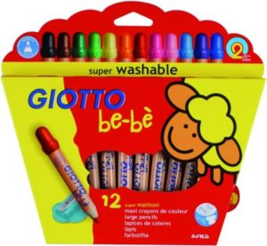 Giotto 12 Ξυλομπογιές Bebe (466500)
