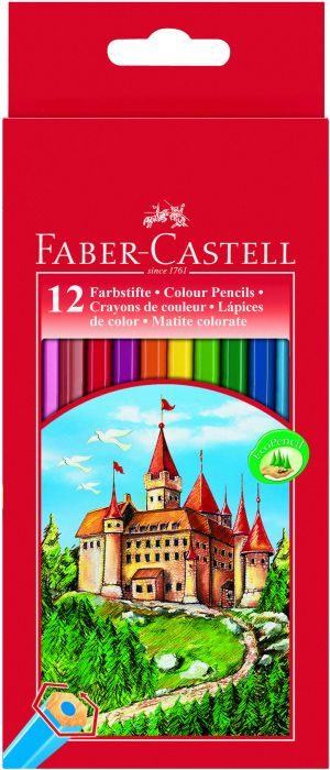 Faber Castell Ξυλομπογιές Fight Knight 12Τμχ (12306255)