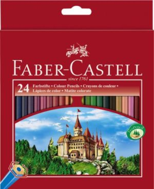 Faber Castell Ξυλομπογιές Fight Knight 24Τμχ (12306256)