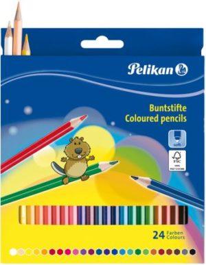 Pelikan Ξυλομπογιές BSLN-24 Χρώματα (724013)