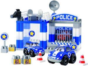 Ecoiffier Abrick Αστυνομικός Σταθμός Fast Car (3081)