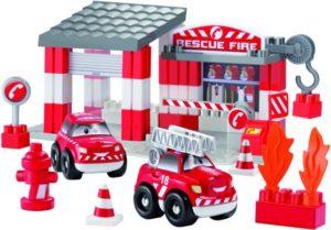 Ecoiffier Abrick Πυροσβεστικός Σταθμός Fast Car (3080)