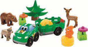 Ecoiffier Abrick Ζώα Του Δάσους (8/003256)