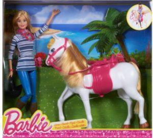 Barbie & Άλογο (CFN42)