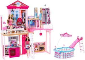 Barbie Build Up Σπίτι-Έπιπλα & Αξεσουάρ (FCK15)