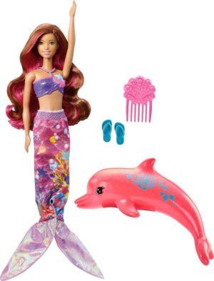 Barbie Dolphin-Φίλη Μεταμόρφωση Σε Γοργόνα (FBD64)