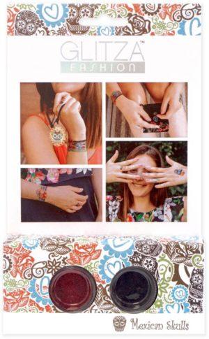 Glitza Fashion Tattoo Mexican Skulls Starter Kit (7818)