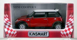KIN Mini Cooper S 1:28-2 Χρώματα (KT5059W)
