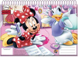 Minnie Glitter Μπλοκ Ζωγραφικής Α4-30 Φύλλα (340-61413)
