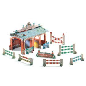 Djeco 3D Χάρτινος Στάβλος (176-07707)