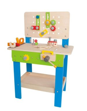 Hape Early Explorer Ξύλινος Πάγκος Εργασίας Master Workbench (E3000)