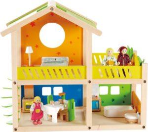 Hape Happy Family Ξύλινο Εξοχικό Happy Villa (E3402A)