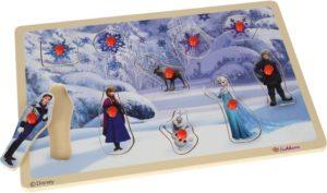 Eichhorn Disney Frozen Ξύλινο Παζλ Pin (100003371)