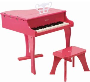 Hape Early Melodies Ξύλινο Πιάνο 30 Κλειδιά-Pink (E0319A)