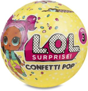 L.O.L Surprise S3 Κούκλα Confetti Pop-1Τμχ (LLU08000/09000/10000)
