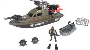 CM Soldier VIII-Powerboat Playset (521004)