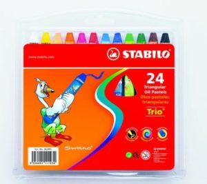 Stabilo Παστέλ 24Τμχ (11262400)