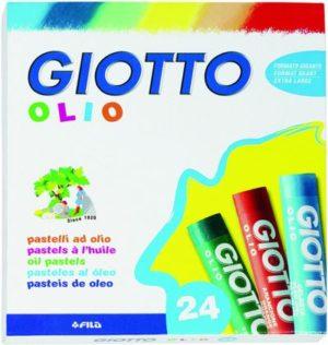 Giotto 24 Λαδοπαστέλ Olio 7cm (293100)