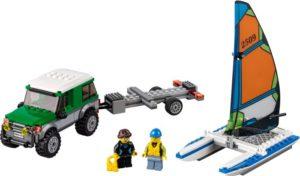 LEGO City 4x4 With Catamaran (60149)