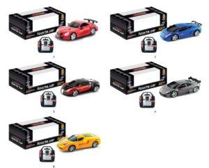 BW Τηλεκατευθυνόμενο Αυτοκίνητο Racer 1:20-5 Σχέδια (680B-684B)