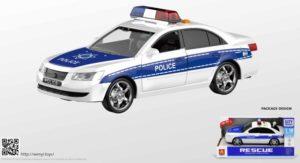 BW F/P Αστυνομικό Όχημα 1:16 23cm (WY560A)