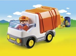 Playmobil 1.2.3 Απορριμματοφόρο Όχημα (6774)
