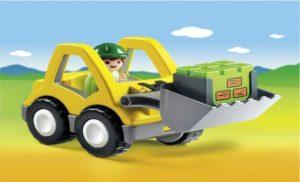 Playmobil 1.2.3 Φορτωτής (6775)