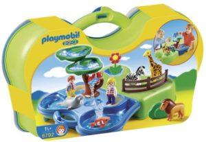 Playmobil 1.2.3 Aquarium-Βαλιτσάκι (6792)