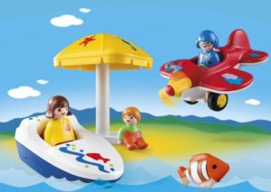 Playmobil 1.2.3 Διασκέδαση Στη Θάλασσα (6050)