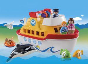 Playmobil 1.2.3 Πλοίο-Βαλιτσάκι (6957)
