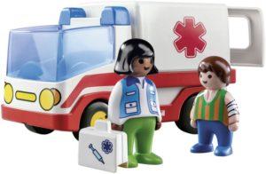 Playmobil 1.2.3 Γιατρός & Ασθενοφόρο (9122)