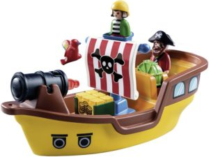 Playmobil 1.2.3 Πειρατικό Καράβι (9118)