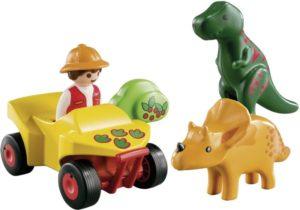 Playmobil 1.2.3 Εξερευνητής Με Δεινοσαύρους (9120)