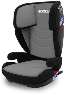 Sparco Κάθισμα Αυτοκινήτου 2+3 F700I Fix Grey (SPC3007GR)
