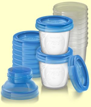 Philips Avent Δοχεία Αποθήκευσης Μητρικού Γάλακτος-Bpa Free (SCF618/10)