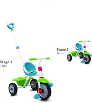 Smart Trike Τρίκυκλο Fun-Red/Green/Blue (1240100)
