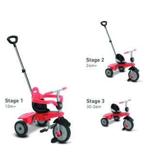Smart Trike Τρίκυκλο Breeze-Red (6070500)
