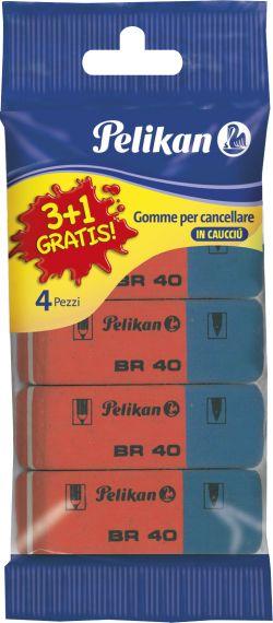Pelikan Γομολάστιχες BR40 3+1 (6533)