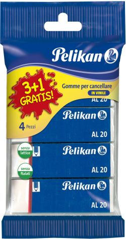Pelikan Γομολάστιχες AL20 3+1 (5470)