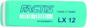 Γόμα Factis Πράσινη Μεγάλη LX12 (036206)