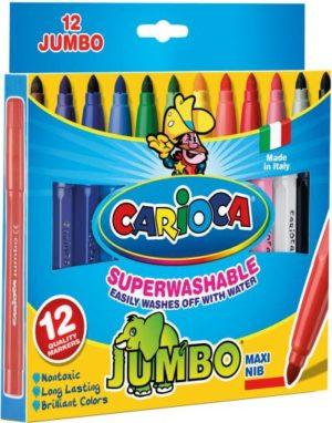 Carioca 12 Μαρκαδόροι Jumbo (40569)