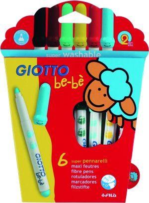 Giotto 6 Μαρκαδόροι Bebe (466600)
