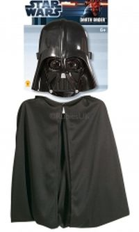 Darth Vader Μάσκα & Κάπα (1198)